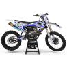 KIT DECO MOTOCROSS FMR FACTORY bleu (ref:prda13e)