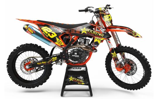 KIT DECO KTM ROCKSTAR ENERGY orange