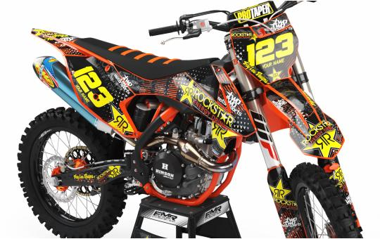 KIT DECO KTM ROCKSTAR ENERGY orange AVANT