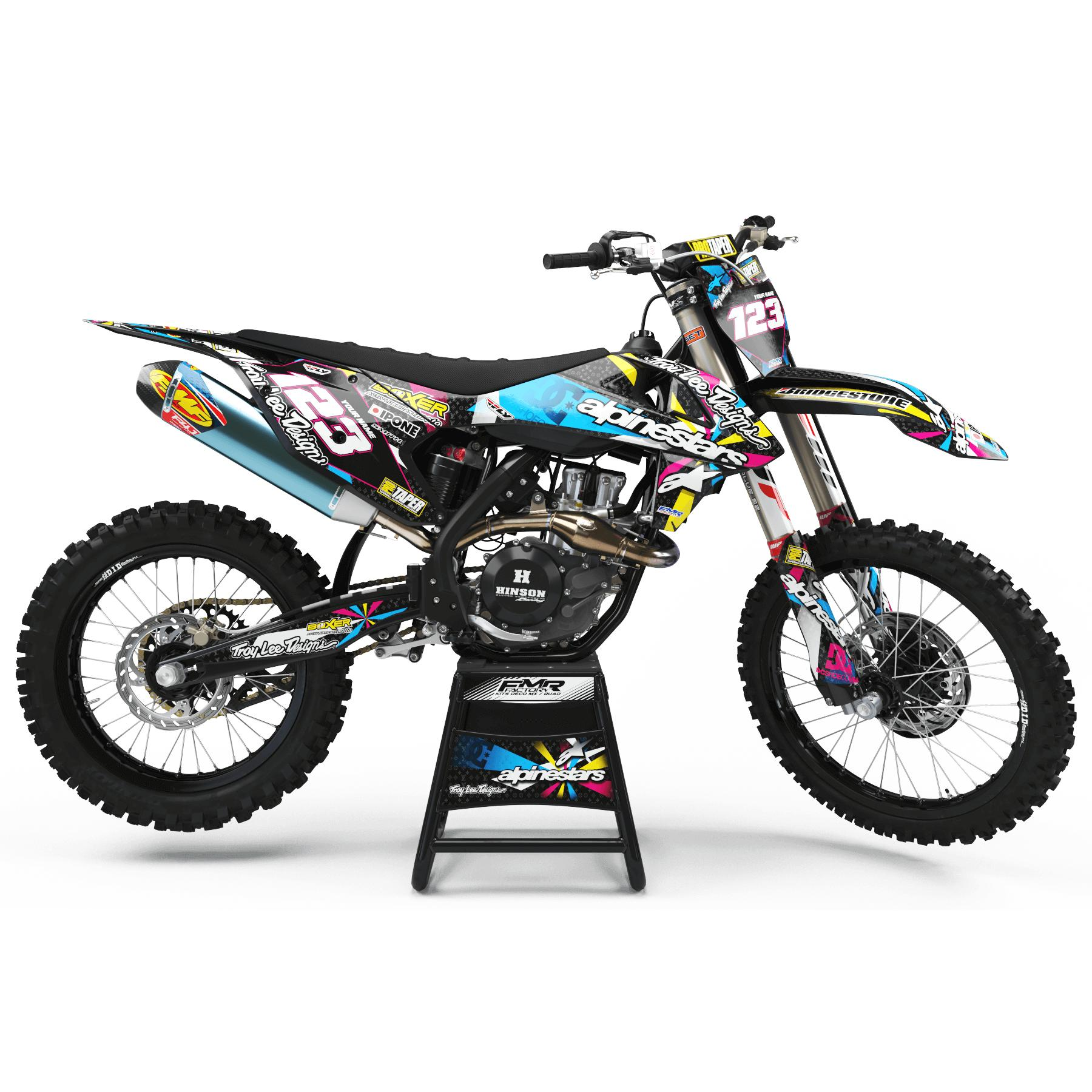 kit deco perso ALPINESTARS MULTI