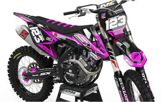 kit deco ktm FACTORY ENERGY rose face avant