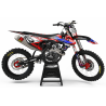 KIT DECO PERSO MOTOCROSS Yamaha FACTORY ENERGY rouge|bleu (ref:prda33e2)