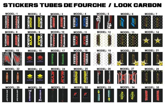 tube de fourche