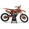 KIT DECO PERSO KTM VERTEX ORANGE (REF:PRDA39C4)
