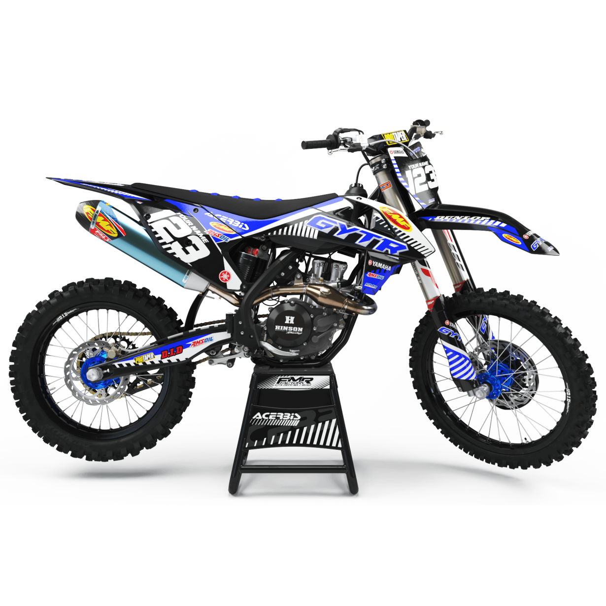 kit deco 125 yz gytr