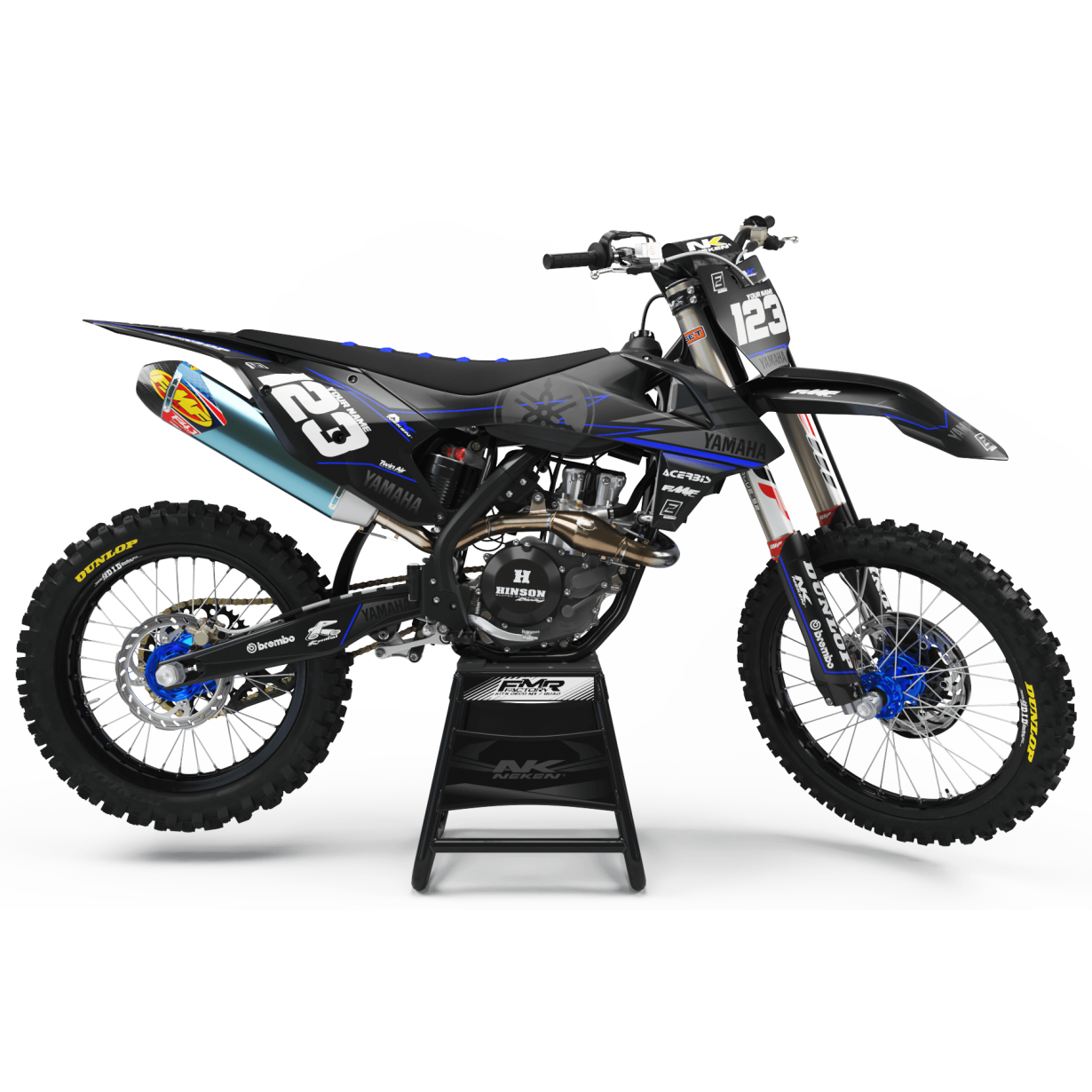 kit deco 125 yz factory neken